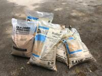 Ballast and paving sand