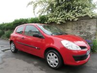 RENAULT CLIO 1.2 16V 3 DOOR 2008 ONE OWNER PLUS JAN 2019 MOT PLUS GOOD SERVICE HISTORY.
