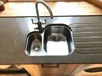 Kitchen sink surround