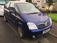 Vauxhall Meriva 1.7 diesel MOT 7/4/19