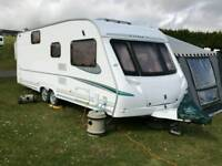 Abbey aventura 340 caravan with issabella awning and annexe