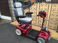 Shop Rider Sovereign 18 stone capacity Mobility scooter can deliver for fuel