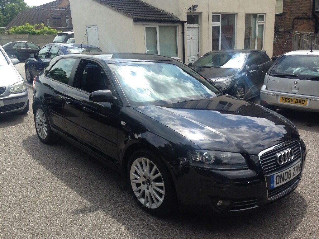 for sale audi a3 sport 1 9 tdi 08 plate full service history in luton bedfordshire gumtree. Black Bedroom Furniture Sets. Home Design Ideas