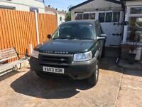 2003 Land Rover Freelander Diesel