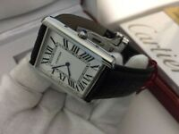 New Swiss Men's Cartier Tank Solo Watch