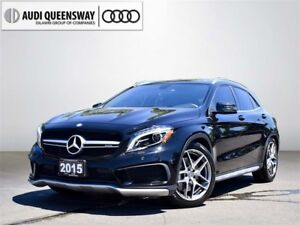 2015 Mercedes-Benz GLA45 AMG Loaded, One Owner, Navigation, Came