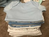 Baby boy next new baby clothes bundle all immaculate 0-1 and 0-3 months some with tags