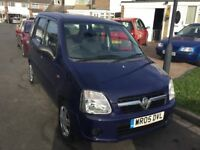 Vauxhall agila 1.0 expression 2005 facelift model 5 door mpv mot April 39000 miles full history