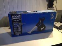 Mac Allister 240V Garden Blow Vac - Brand new in box
