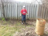 Lawn Raking + Exterior Maintenance.(613)302-9295