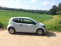 Volkswagen Take Up! Light blue colour