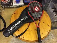 Wilson Hammer 7 Tennis Racquet Carbon Matrix - Very Good Condition