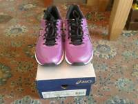 Asics gel-galaxy 8 running shoes size UK 7 NEW