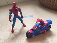 Spider-Man figures