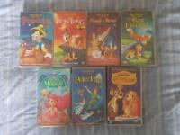 DISNEY VHS VIDEOS CLASSICS COLLECTION
