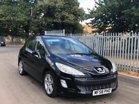 Peugeot 308 1.6 petrol black