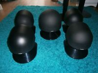 Canon S35 / S50 Speakers + 2 x Stands
