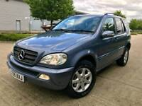 MERCEDES ML 270 AUTO DIESEL SUPERB DRIVE LONG MOT £2650 RANGE CRV RAV4 PX WL
