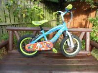 Boys Woody and Buz bike 14 inch wheels