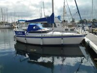 Jenneaux Fantasia 27' Sail Boat, with swing keel. New rigging, canvas, rebuilt engine.