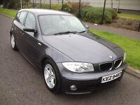 2006 BMW 118D Sport, 5 Door, Graphite, FSH, Excellent Condition, 3 Owners