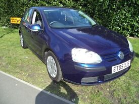 Volkswagen Golf S Fsi 5dr (blue) 2005