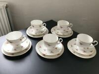 Genuine bone China trio set
