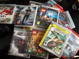 playstation 3 and games