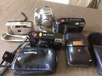 4 cameras job lot