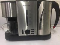 3 in 1 cuttle, toaster and coffee machine