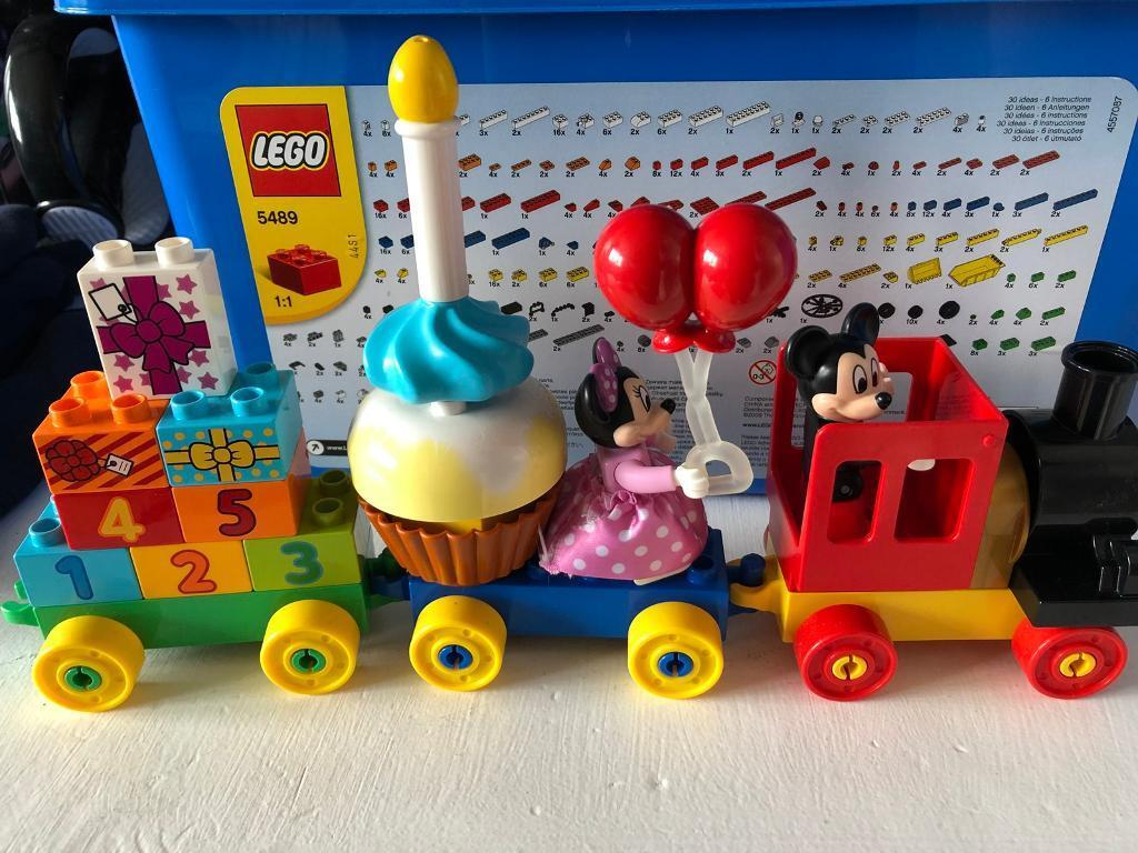 Lego Duplo Mickey Mouse Train In Patchway Bristol Gumtree