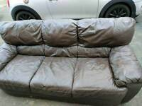 2 seater and 3 seater sofa FREE