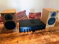 Lovely Cambridge Audio / Tannoy sound system