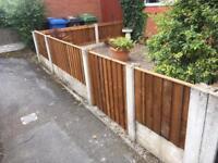 Garden gate front gate wooden gate