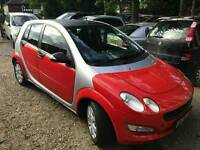 Smart forfour coolsTyler 1.1 petrol 2006 very good condition
