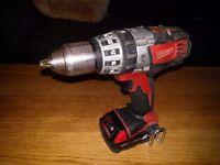 Milwaukee C18PD 18v Combi Hammer Drill