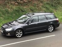 Mint 2009 Subaru Legacy 2.0D REn Sports Tourer estate, trade in considered, credit cards accepted