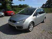 2004 FORD FOCUS C-MAX 1.6 TDCi '110'--NEW MOT--83000 MILES--MANUAL