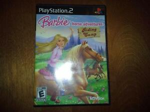 jeu playstation 2 barbie
