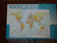 World Map Puzzle, Kings, 1000 pieces