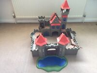 Playmobil 3268 Knight's Empire Castle And 2 X 3274 Knights Ruin