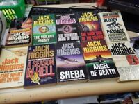10x jack higgins books