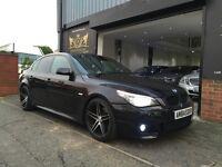 "2008 BMW 5 Series 3.0 525d M Sport 4dr FULL SERVICE - HUGE SPEC-upgraded 19"" RIVERA DEEP DISH ALLOYS"