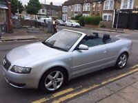 Cabriolet Audi A4 2.4 manual Perfect Condition