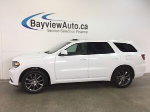 2017 Dodge DURANGO GT- AWD|HITCH|ROOF|HTD LTHR|REV CAM|UCONNECT!
