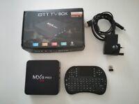 MXQ Android TV set top box 4k HD