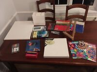 Painting and Drawing Bundle - Canvasses, Paints, Books and more!