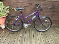 RALEIGH VIXEN LADIES MOUNTAIN BIKE WITH 18 GEARs