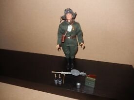 Vintage Action Man Russian Infantry - with Accessories - VGC