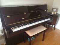 Steinbach Piano with Storage Stool